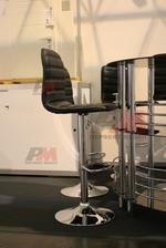 Универсални бар столове със стойка за крака за вътрешно използване