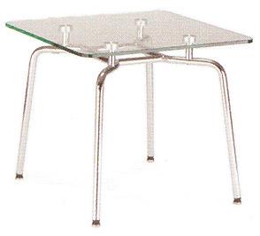 HELLO! Table GL chrome