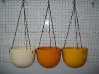 Керамична кашпа Базел 18 см. висяща