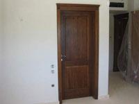 Масивна интериорна врата дъбова