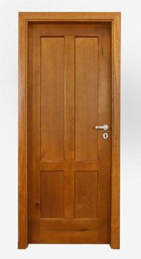Интериорна масивна таблена врата /парен бук/