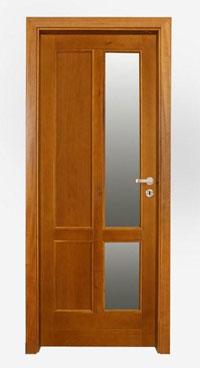 Масивна интериорна врата с табли