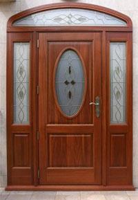 Входна врата масив /дъб/