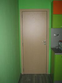 Интериорна врата от ламинат по поръчка на клиента