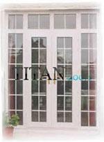 Остъклена балконска врата по индивидуален размер