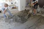 полагане на подови замазки по поръчка
