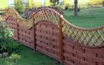ограда дървена 3038-3190
