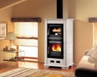 Облицована печка на дърва - 12.8 kW