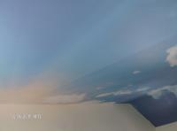 Опънат таван небе
