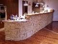 Каменна облицовка на бар плот