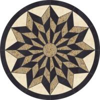 Орнамент звезда за под