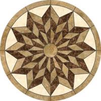 Мозайка звезда за под