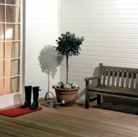 PVC облицовка за външна изолация