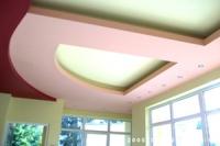 Окачени тавани, обемни форми и апликации за таван
