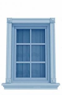 Проектиране на рамки за прозорци
