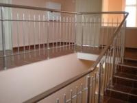 Парапети за стълби от алуминии