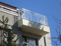 Парапети за тераси от алуминии
