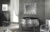 Обзавеждане за баня в сребрист цвят