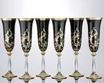 Кристален сервиз 6 чаши за вино