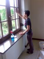 професионално почистване на стъкла