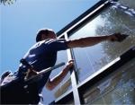почистване на стъклени фасади