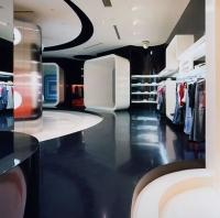 Луксозна черна подова настилка от кварц