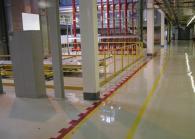 Антистатични подове за складови помещения