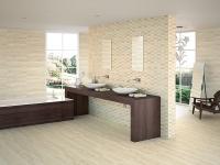 Луксозни испански плочки за баня кремава мозайка