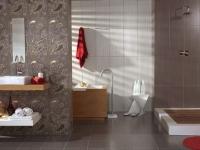 Испански луксозни плочки за баня в цвят кашмир