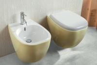 Стилен комплект от Италия биде и тоалетна чиния
