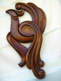 Декорации с дърворезба Полет
