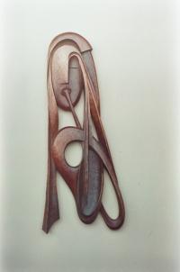 Модерна дървена пластика Със звук на тръба
