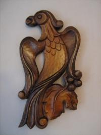 Дърворезба Пиле 2