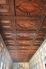 дърворезба по поръчка на тавани