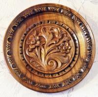 Дърворезба на чинии