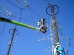 Реконструкция на въздушни електропроводи за високо напрежение