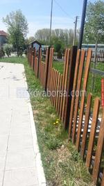 огради дървени