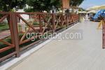 изработка на дървени огради за механи и кръчми с размер на клиента