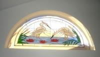 Арка с витраж Лебедово езеро