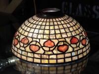 Лампа сфера с витражи
