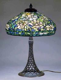 Витражна лампа