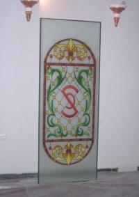 Витражно стъкло за врата