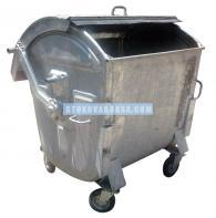 Метална кофа за отпадъци от бита тип Бобър