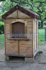 Индивидуални дизайни за будки от дървен материал по проект