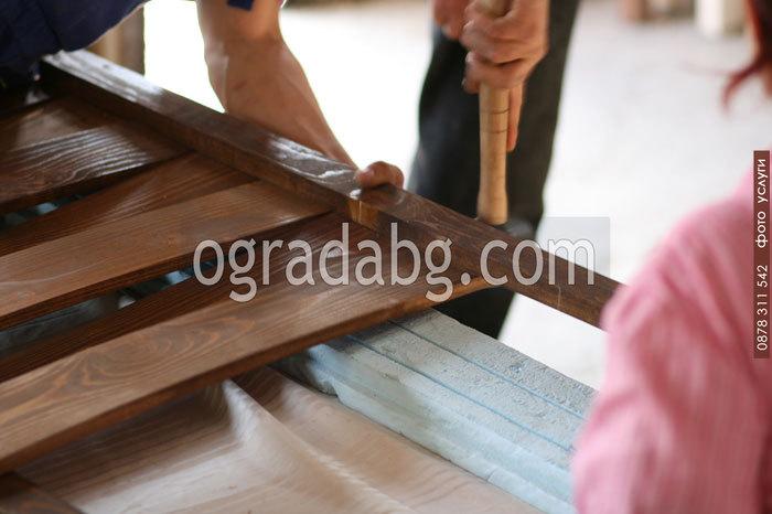 производство на дървени огради