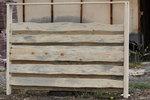 изработка на дървени оградни пана по поръчка