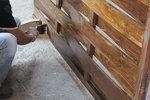 изработка на дървени оградни пана
