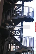вити външни противопожарни стълби