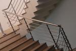 иноксови парапети за стълбища