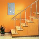 стълбищни дървени парапети